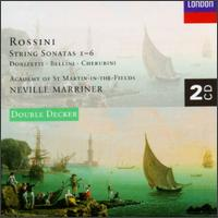 Rossini: String Sonatas 1-6 - Roger Lord (oboe); Academy of St. Martin in the Fields; Neville Marriner (conductor)