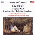 Roy Harris: Symphony No. 3; Symphony No. 4 'Folk Song Symphony'