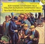 Roy Harris: Symphony No. 3; William Schuman: Symphony No. 3 - New York Philharmonic; Leonard Bernstein (conductor)