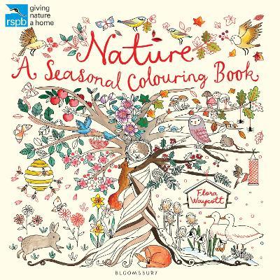 RSPB Nature: A Seasonal Colouring Book -