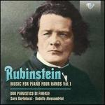 Rubinstein: Music for Piano Four Hands, Vol. 1