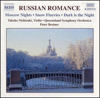 Russian Romance - Takako Nishizaki (violin); Queensland Symphony Orchestra; Peter Breiner (conductor)