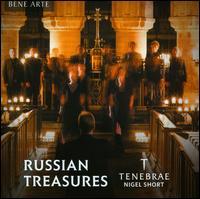 Russian Treasures - Nicholas Madden (tenor); Tenebrae (choir, chorus); Nigel Short (conductor)
