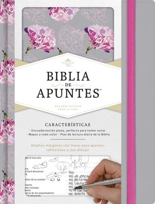 Rvr 1960 Biblia de Apuntes, Gris y Floreado Tela Impresa - B&h Espanol Editorial (Editor)