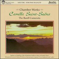 Saint-Saëns: Chamber Works - Audrey Andrist (piano); David Hickman (trumpet); George Brough (harmonium); Jan Urke (bass); Marianne Le Mentec (harp);...