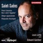 Saint-Saëns: Piano Concertos Nos. 3 and 5 'Egyptian'; Allegro appassionato; Rhapsodie d'Auvergne