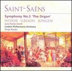 Saint-Saëns: Symphony No. 3; Works by Widor, Grison, Jongen - Jane Parker-Smith (organ); London Philharmonic Orchestra; Serge Baudo (conductor)