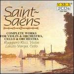 Saint-Saëns: Works for Violin, Cello