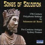 Salamone de' Rossi: The Songs of Solomon