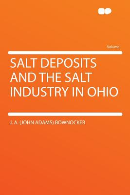 Salt deposits and the salt industry in Ohio - Bownocker, J A