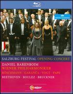 Salzburg Festival Opening Concert 2010: Beethoven/Boulez/Bruckner [Blu-ray]
