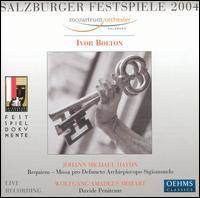 Salzburger Festspiele 2004 - Anna Bonitatibus (soprano); Christoph Strehl (tenor); Iride Martinez (soprano); Luca Pisaroni (bass); Luke Green (continuo);...