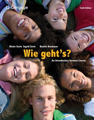 SAM for Sevin/Sevin/Brockman's Wie geht's?, 10th - Sevin, Dieter, and Sevin, Ingrid, and Brockman, Beatrix