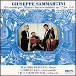 Sammartini: Flute Sonatas Op. 2, Vol. 1 Nos. 1 - 6