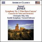 Samuel Jones: Symphony No. 3; Tuba Concerto