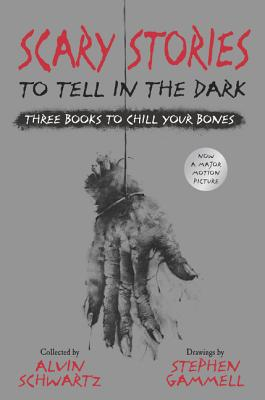 Scary Stories to Tell in the Dark: Three Books to Chill Your Bones: All 3 Scary Stories Books with the Original Art! - Schwartz, Alvin