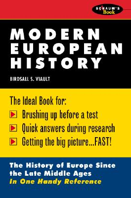 Schaum's Outline of Modern European History - Viault, Birdsall S