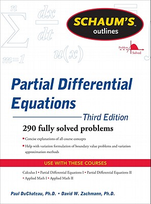 Schaum's Outline of Partial Differential Equations - DuChateau, Paul, and Zachmann, D W