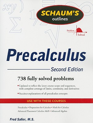 Schaum's Outlines Precalculus - Safier, Fred
