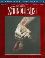 Schindler's List [20th Anniversary] [3 Discs] [Blu-ray/DVD]