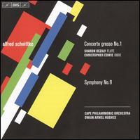 Schnittke: Concerto grosso No. 1; Symphony No. 9 - Albert Combrink (piano); Christopher Cowie (oboe); Grant Brasler (harpsichord); Sharon Bezaly (flute);...