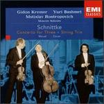 Schnittke: String Trio; Concerto for Three; Minuet; Berg: Canon