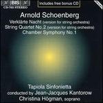 Schoenberg: Verklärte Nacht; String Quartet; Chamber Symphony