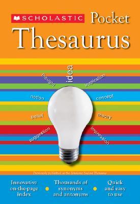 Scholastic Pocket Thesaurus - Bollard, John K