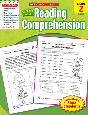 Scholastic Success with Reading Comprehension, Grade 2 - Scholastic