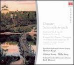 Schostakowitsch: Sinfonie No. 1; Konzert für Klavier, Trompete und Streichorchester