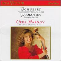 """Schubert: """"Arpeggione"""" Sonata; Prokofiev: Sonata, Op. 119 - Michael Dussek (piano); Ofra Harnoy (cello)"""