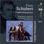 Schubert: Complete String Quartets, Vol. 9