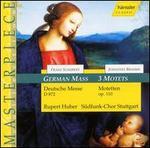 Schubert: German Mass; Brahms: Motets