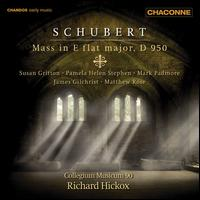 Schubert: Mass in E flat major, D 950 - Collegium Musicum 90; James Gilchrist (tenor); Mark Padmore (tenor); Matthew Rose (bass);...