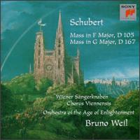 Schubert: Masses, D. 105 & D. 167 - Alexander Nader (soprano); Arno Hartmann (organ); Georg Leskovich (alto); Georg Leskovich; Harry van der Kamp (bass);...