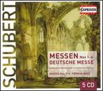 Schubert: Masses Nos. 1-6; German Mass [Box Set]