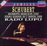 Schubert: Moments Musicaux, D. 780; Piano Sonata in C minor, D. 958
