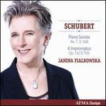 Schubert: Piano Sonata No. 7, D. 568; 4 Impromptus Op. 142 D. 935