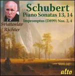 Schubert: Piano Sonatas Nos. 13 & 14; Impromptus