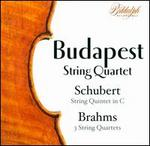 Schubert: String Quintet; Brahms: 3 String Quartets