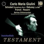 Schubert: Symphony No. 4; Debussy: La Mer