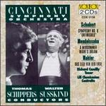 """Schubert: Symphony No. 8 """"Unfinished""""; Mendelssohn: A Midsummer Night's Dream; Gustav Mahler: Das Lied von der Erde"""