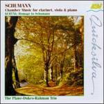 Schumann: Chamber Music for clarinet, viola & piano; Kert�g: Hommage to Schumann