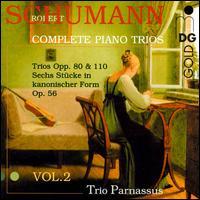 Schumann: Complete Piano Trios, Vol. 2 - Trio Parnassus