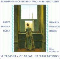 Schumann: Dichterliebe; Frauenliebe und -leben - Aksel Schiøtz (tenor); Alfred Cortot (piano); Bruno Walter (piano); Charles Panzèra (baritone); Franz Rupp (piano);...