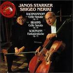 Schumann: Fantasiestücke; Brahms: Sonata, Op.78; Rachmaninoff: Sonata, Op.19