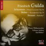 Schumann: Piano Concerto; Weber: Konzertstück; Strauss: Burleske