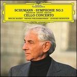 """Schumann: Symphonie No. 3 """"Rheinische""""; Cello Concerto"""