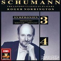 "Schumann: Symphonien Nos. 3 ""Rheinische"" & 4 - London Classical Players; Roger Norrington (conductor)"