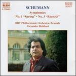 "Schumann: Symphonies No. 1 ""Spring"" & No. 3 ""Rhenish"""